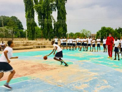 Sports activity is not left out